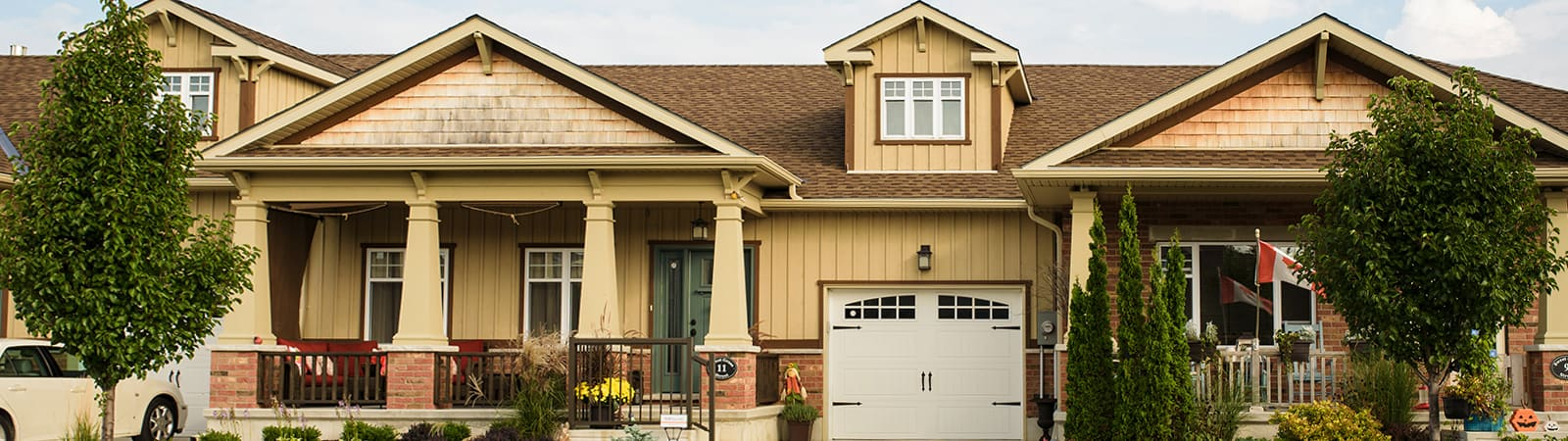 Townhomes in Bayfield, Ontario, by Durand Construction